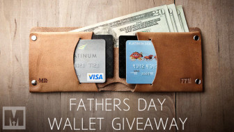 Fathers Day Wallet Giveaway