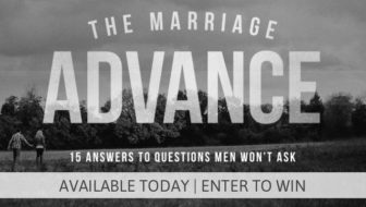 "Purchase ""The Marriage Advance"" Today!"