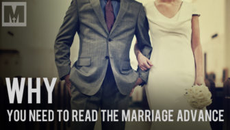 "3 Reasons Why You Should Read ""The Marriage Advance"""